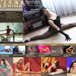 Sexy ballerinas in fetish clothes are burning with nasty desire